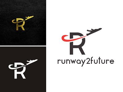 Contest Entry - Designcrowd metahumandesign contest logo motion plane r letter corporate aviation