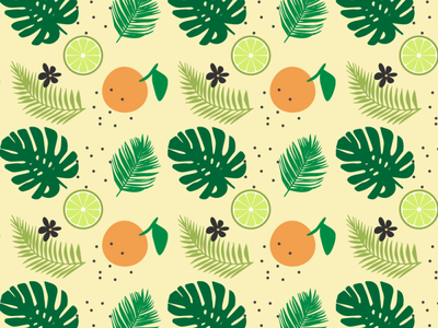 Summer pattern illustration flower design plant logo graphic design illustrator vector pattern summer
