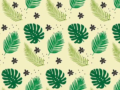 Leafs_patterns design art plant illustration flower