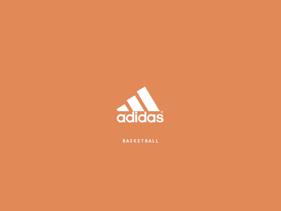 Adidas in Motion logo vector animation 2d animation mograph motion graphics playful minimal sport logo adidas logo animation