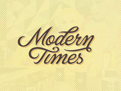 Liquid Logo Reveal: Modern Times Brewery retro vintage liquid motion graphics script animation brewery modern times logo animation
