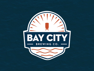 Logo Animation: Bay City Brewery vector animation nautical animation after effects motion design motion graphics bay city brewery animation animated logo logo animation
