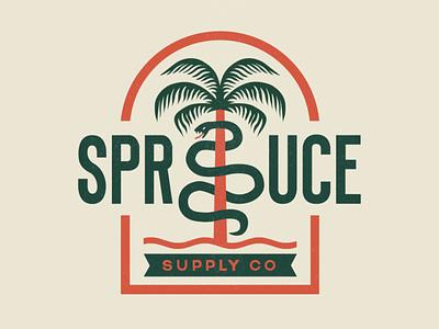 Spruce Supply Company: Logo Animation animated logo logo 2d animation after effects motion graphics vector animation logo animation