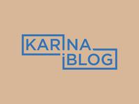 Karina iBlog Logo Design_UnApproved