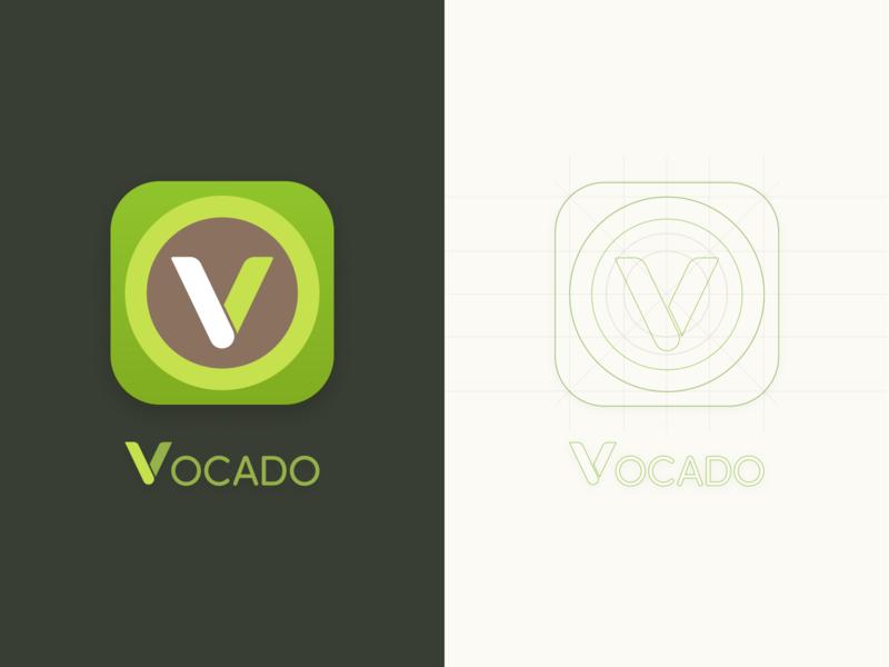Daily UI 005 - App Icon lettering flat icon app logo minimal branding vector ui design
