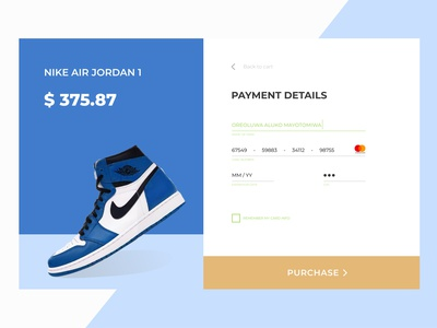 Check out Screen for E-commerce site figma design figmaafrica figma ui blue and white nike sneaker sneakerhead webdesign ecommerce design payment payment form checkout screen checkout page checkout