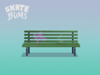Skate Bums - Game objects (Bench)