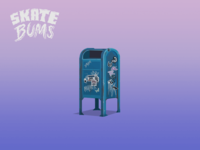 Skate Bums - Game objects (Mailbox)