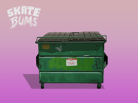 Skate Bums - Game objects (Dumpster)