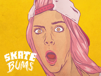 Skate Bums posters - Lola