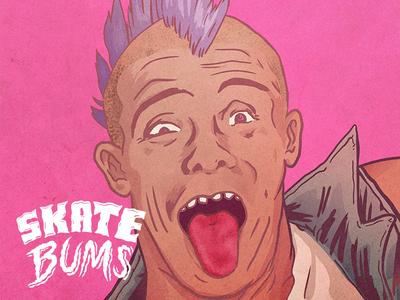Skate Bums posters - MPunk sketch skateboarding skateboard skate posters portraits indygame illustration gameart design artwork art