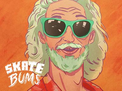 Skate Bums posters - Rizzo sketch skateboarding skateboard skate posters portraits indygame illustration gameart design artwork art
