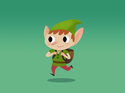 Elf concept 2 christmas character design characters forest nature elf design drawing gameart art sketch illustration