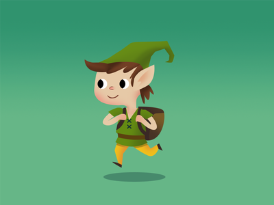 Elf concept 3 christmas character design characters forest nature elf design gameart drawing art sketch illustration