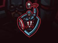 Cap gamers streamer stream brand identity sports logo mascot gaming logo gaming gamer fortnite esports logo esports epsorts