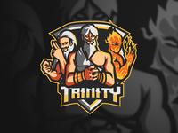 Trinity Mascot Esports Logo For Sale online games streamers stream gods mascot logo ml dota2 brand identity logo sports logo mascot gaming logo gaming gamer fortnite esports logo epsorts