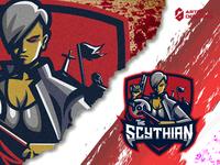The Scythian oldguard callofduty dota2 streaming streamer stream eportslogoinspiration logoinspiration logo sports logo mascot gaming logo gaming gamer fortnite epsorts esports logo brand identity