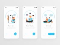 Language App Concept - Onboarding language app illustration clean design mobile app design mobile app figma ui design design ui