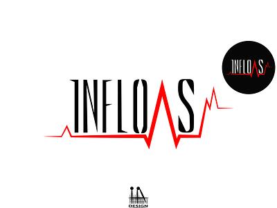Logo (Inflows) логоарт illustrator illustration vector графика logo graphic design design art