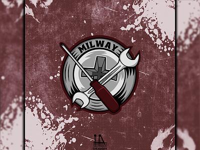 Logo (Milway) логотип логоарт illustrator illustration vector графика logo graphic design design art