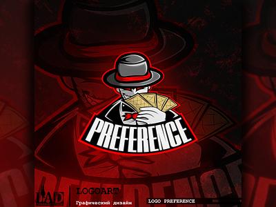 Logo presentation (PREFERENCE) design illustration логотип графический дизайн логоарт illustrator graphic design графика vector logo
