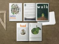 Explore Magazine graphicdesign travel explore magazine magazine