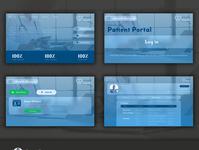 eHealth Wbsite UI Design webdesign health website uidesign website design ui  ux