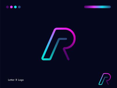 R Letter Modern Logo monogram logo logomark logotype branding vector design illustration logo for sale logo design logo r monogram r letter modern logo r mark r letter r logo gradient logo modern logo r letter logo