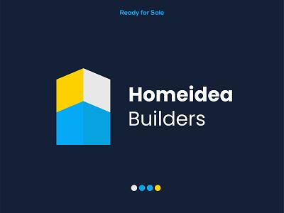 Real Estate Logo l Construction Business Logo l Builders Company web mark letter logo corporate startup company creative logo