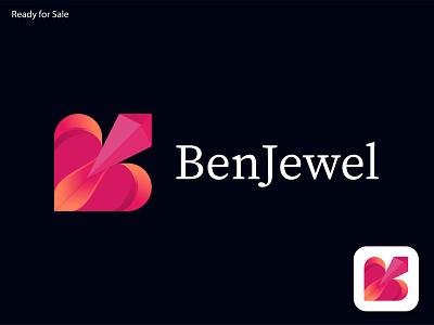Modern B Letter Luxury Jewelry Logo business logo startup icon logo design app design branding illustration logo maker logo modern logo gradient modern jewelry logo gems logo modern b letter logo 3d logo luxury jewelry logo jewelry logo b logo modern letter logo