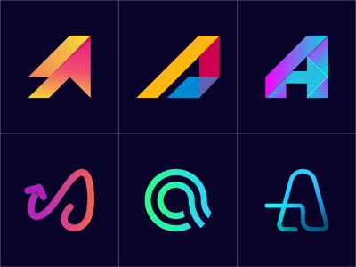 Modern A Letter Logo Collection l A Logofolio technology logo airlines logo financial company logo real estate logo aviation company logo marks modern logo a logoflio logoset logocollection logofield logos a letter logo a logo abstract logo geometric logo branding a letter design logofolio a letter logo collection