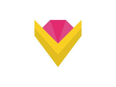 Modern V Letter Mark Luxury Jewelry Brand Logo fashion logo icon app vector design illustration modern logo branding 3d geometric logo v mark v monogram v logo jewelry brand logo modern v letter logo diamond logo luxury jewelry logo v letter jewelry logo modern jewelry logo v letter logo