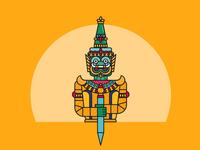 Thai warrior - Serie Thailand