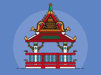 Temple Mini - Serie Thailand