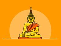Golden Buddha - Thailand Serie