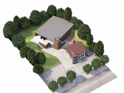 Mosque  and community centre development property archviz architectural visualization illustration cgi 3d