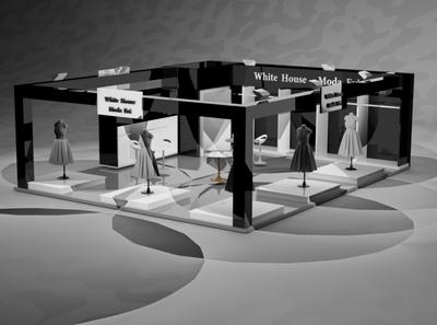 stand store design store architecture design