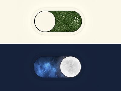 Day&Night Toggle 3d toggle