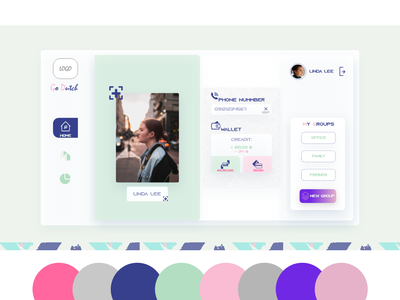 User Profile 006 daily 100 challenge dailyuichallenge daily ui ui  ux design user profile ui user profile ui design uidesign dailyui website minimal ux web design ui branding