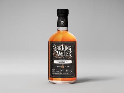 Label Design for a distillery vintage design label design
