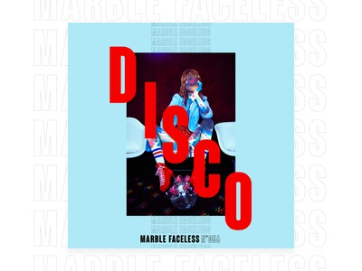 Disco - Poster Serie n°002 typography typographic type roller disco posters poster faceless marble design graphic