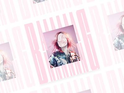 Baaang - Poster Serie n°003 typography typographic type roller posters poster marble graphic faceless bang design