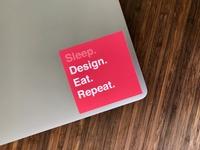 Designer Sticker