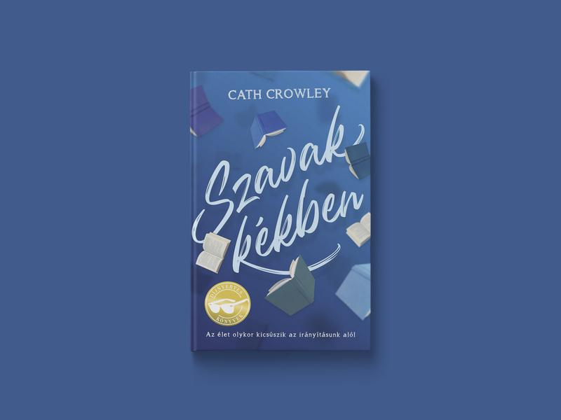 Szavak kékben – Book cover