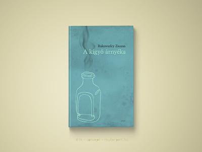 30 days book cover challenge #14 a kígyó árnyéka rakovszky zsuzsa graphic design challenge könyv könyvborító concept cover design book cover cover book 30daychallenge