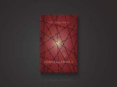 30 days book cover challenge #15 cover sorstalanság kertész imre graphic design challenge könyv könyvborító concept cover design book cover book 30daychallenge