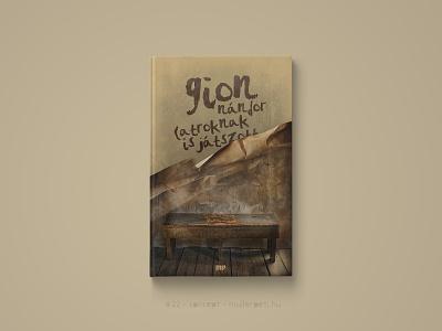 30 days book cover challenge #22 latroknak is játszott gion nándor könyv könyvborító graphic design challenge concept cover design book cover cover book 30daychallenge