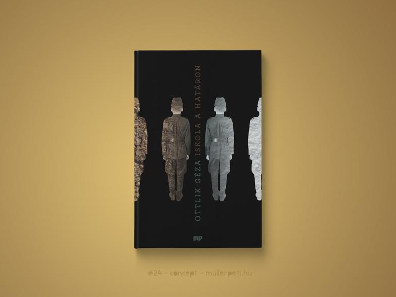 30 days book cover challenge #24 iskola a határon ottlik géza könyvborító könyv graphic design challenge concept cover design book cover cover book 30daychallenge