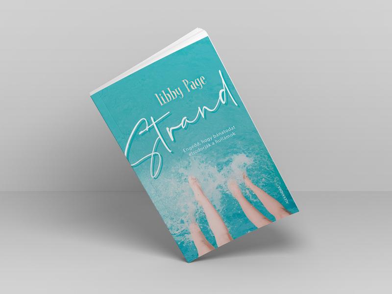 Strand – Book cover cover novel cover design typogaphy graphic design book softcover book cover