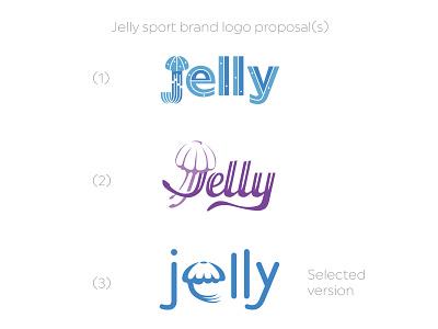 jelly watersports outdoor water sports logo sport typogaphy brandlogo brand logotype logo animal jelly fish jelly